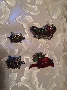 Assorted quality brooches $5.00 each