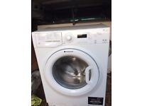 £99.00 hotpoint 8kg+1400 spin washing machine+3 months warranty for £99.00