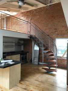Loft for Rent Old Montreal