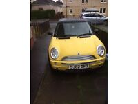 2002 Mini One 1.6 full year mot superb driving and looking car good condition throughout