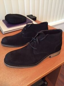 Kenneth Cole suede shoes/boots - Brand New - Black - Men's 7.5