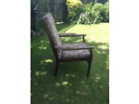 Vintage cintique chair, upholstery project £12