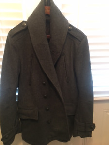 Two mint barely worn Men's Firetrap Peacoats