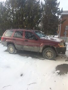 "2000 Jeep Grand Cherokee Laredo 4x4 2""lift NEED GONE ASAP"