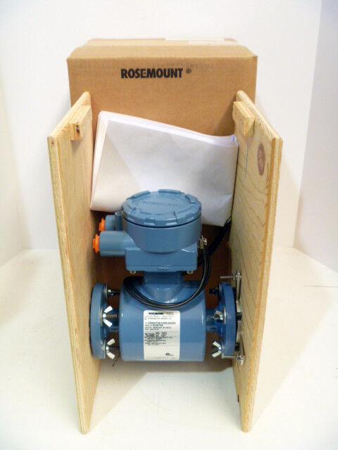 """1"""" Rosemount 8705 ASA010C1W0NAG1Q4 150# Magnetic Flow Meter 2013 NEWINBOX 012A"""
