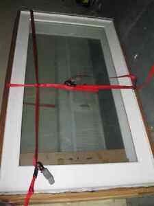 "2    French Door Glass Windows for Sale   47w"" x 81 1/2""h"
