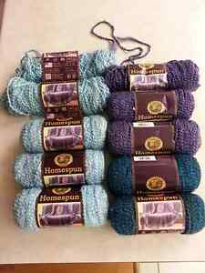 Yarn - Lion's Brand Homespun - Most of it New