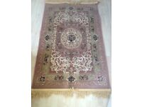 Stylish wool rug