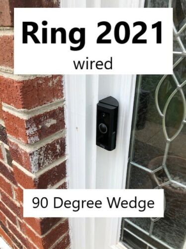 Ring wedge angle 90 degree for Wired (2021) (VIDEO DOORBELL NOT INCLUDED!!!)