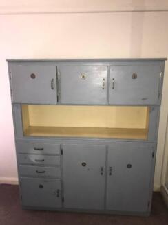 Vintage Meat Safe Cabinet