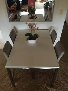 FREEDOM Signature Essentials Dining Table with 4 dining chairs Caringbah Sutherland Area Preview