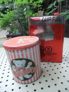 Compact Coleman Backpacking Stove and Fuel
