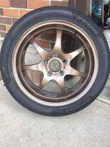 4 tires and rims $650.00 obo
