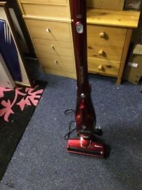 Morphy Richards Supervac 2-in-1 vacuum cleaner, Red. Bridge of Don.
