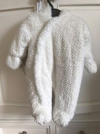 New Mothercare lamb sleepsuit with tags 0-3 months now £10 I paid £32