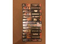 Classic JAMES BOND 007 VHS Video Bond Collection - 13 Tapes great condition