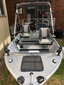 Brooker Sea-AL 15HP Mercury