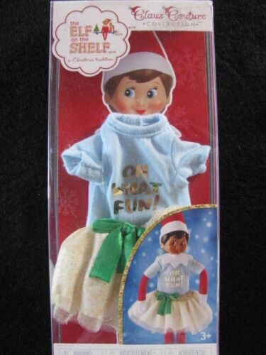 The Elf on the Shelf Claus Couture FESTIVE FUN SET* Oh What Fun! NEW