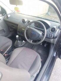 Ford Fiesta zetech 03 plate