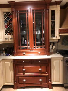 High end kitchen cabinetry has to go due to house makeover