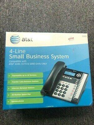 New Open Box Att 1040 4 Line Small Business System