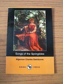 2 Books Alfred Lord Tennyson & Algernon Swinburne Isle of Wight interest by Dodo Press