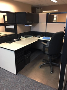 Office Partitions and desk units