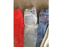 SELECTION ON JEANS AND DRESS'S FOR 3 YR OLD GIRL.