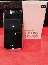 G925 GALAXY S6 EDGE 32GB BLACK UNLOCKED WITH 12 MONTH WARRANTY