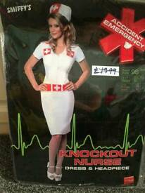Sexy nurse halloween outfit size 10/12
