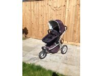 Mothercare My3 Pram for sale (complete travel system) - Good Condition