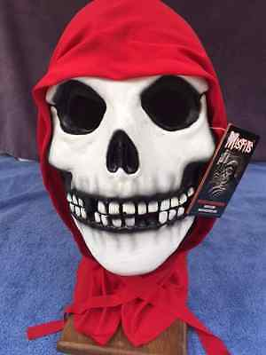 Halloween Costume MISFITS RED HOOD FIEND DELUXE LATEX MASK Haunted House NEW (Misfits Halloween Mask)