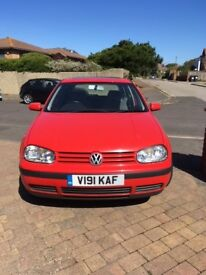 VW Golf SE 5 Door Hatchback MOT'D until Feb 2019 Cam Belt Replaced June 2017