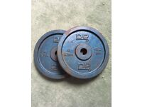 DP Weight plates x2 of. 6kg each