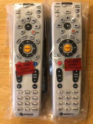 Directv Remote Control Replacement Rc66rx Ir Rf Universal Upgrade  2 Pack