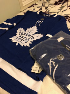 BRAND NEW AUTHENTIC ADIDAS LEAFS JERSEYS!! (HOME AND AWAY)