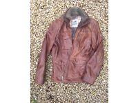 John Partridge Leather Jacket
