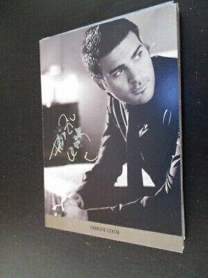 82064 Fabrizio Levita Widmung Musik TV Film original signierte Autogrammkarte