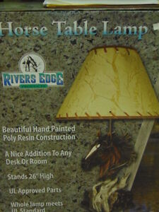 Deer and Horse Lamps for Sale London Ontario image 3