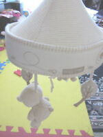Baby crib Mobile unit w/ all accessories intact- Exc. cond. -