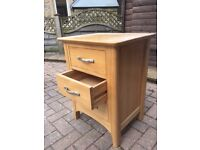 Bedside drawers in Pine