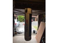 RDX Max TZ7 Punch bag 5ft with chains & mounting.