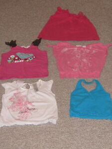 TANK TOPS TODDLER 18-24M  BABY GAP, ROXY, GUESS, CHILDRENS PLACE