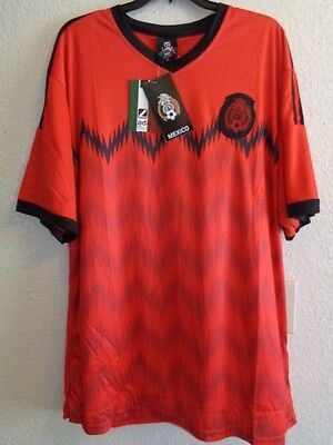 Mexico National Soccer Team El Tri Medium Red Jersey New with Tags World Cup
