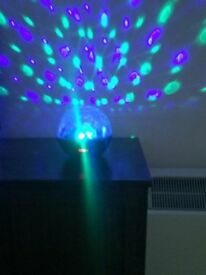 Bluetooth Speaker Disco Light with FM Radio & AUX input