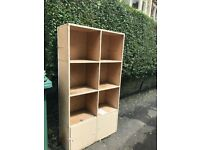 Big wooden storage unit, ideal for kids stuff...FREE TO COLLECTOR