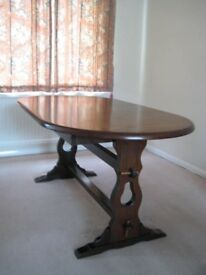 Cheap, solid Dining Table and 6 chairs