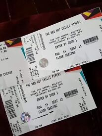 Red hot chilli pipers tickets for sale
