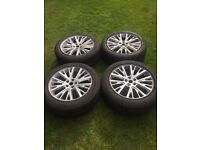 ## 5x ## Land Rover-Range Rover Autobiography Volkswagen T5 Alloy Wheels