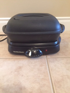 Hamilton beach electric skillet in new condition $40